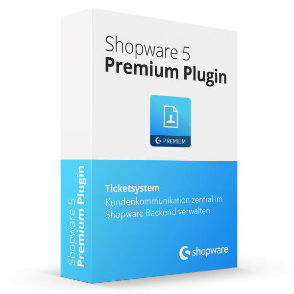Ticketsystem Shopware Premium Plugin