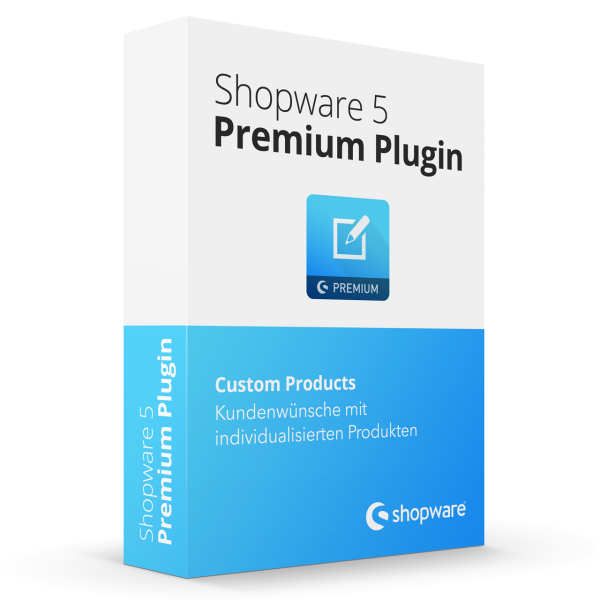 Custom Products Shopware Premium Plugin