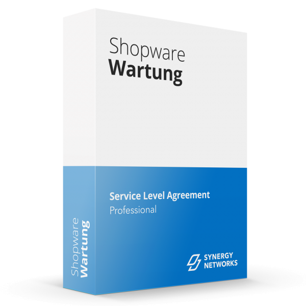 Shopware Service Level Agreement Professional